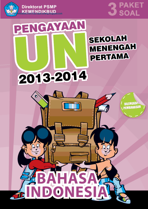 Materi Pengayaan UN Bahasa Indonesia SMP MTs 2014