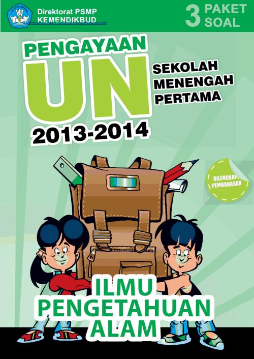 Materi Pengayaan UN IPA SMP MTs 2014